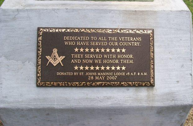 The Memorial Day Foundation - ST  JOHN'S MASONIC LODGE #5