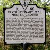 REVOLUTIONARY WAR MUSTER GROUND MEMORIAL MARKER