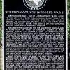 BURLESON COUNTY IN WORLD WAR II MEMORIAL MARKER