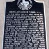 MEDAL OF HONOR FIGHT 1875 MEMORIAL PLAQUE