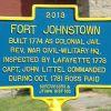 FORT JOHNSTOWN WAR MEMORIAL MARKER II