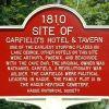 SITE OF GARFIELD'S HOTEL & TARVERN MEMORIAL MARKER