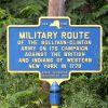 MILITARY ROUTE REVOLUTIONARY WAR MEMORIAL MARKER