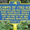 CAMPS OF 1782-83 REVOLUTIONARY WAR MEMORIAL MARKER