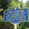 FORT CLINTON REVOLUTIONARY WAR MEMORIAL MARKER