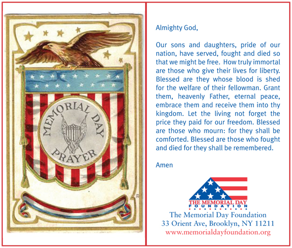 Faqs The Memorial Day Foundation Remember Memorial Day